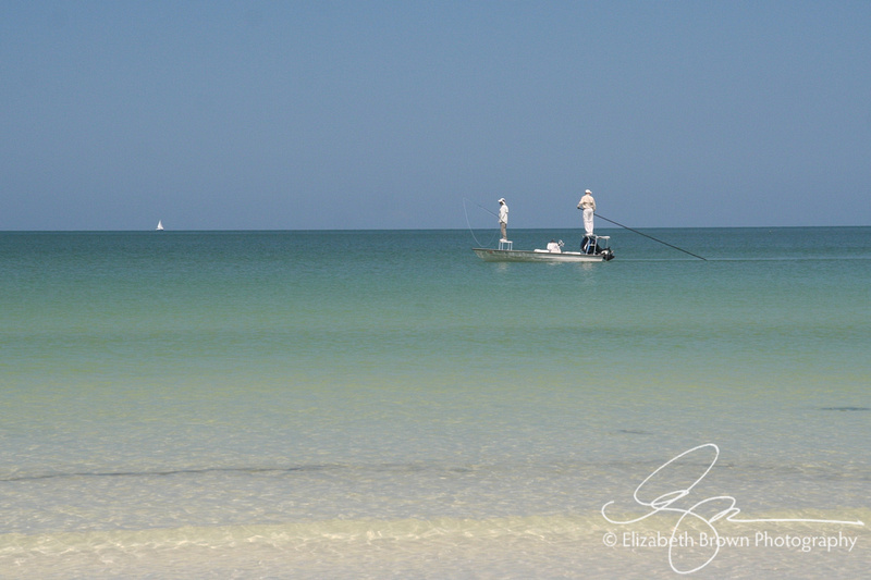 Flats Fishing off the coast of Caladesi Island State Park, Dunedin, FL