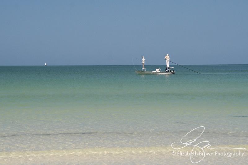 Flats Fishing off the coast of Caladesi Island State Park, Dunedin, FL