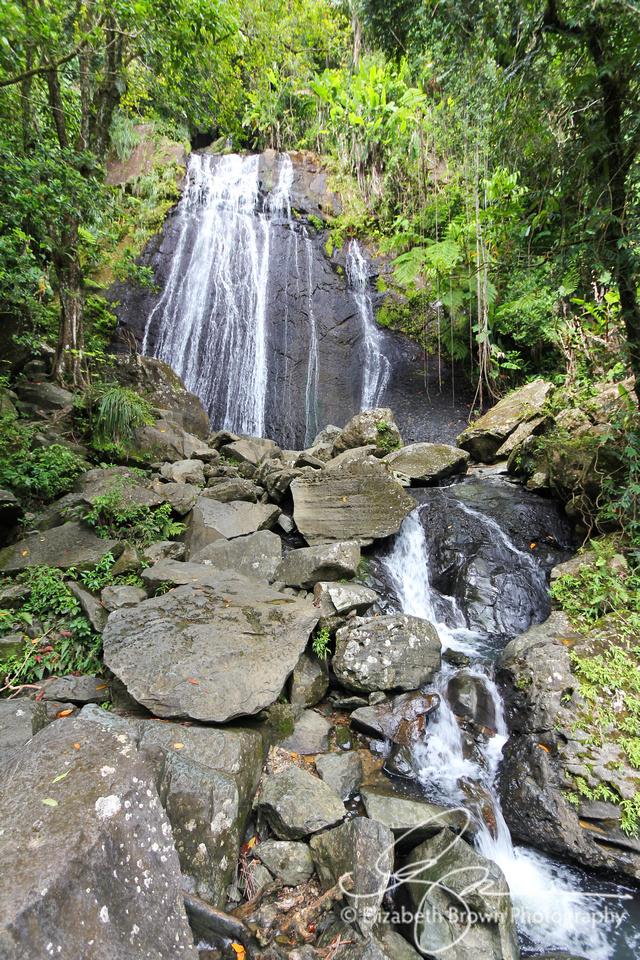 La Coca Falls, El Yunque National Forest, Puerto Rico
