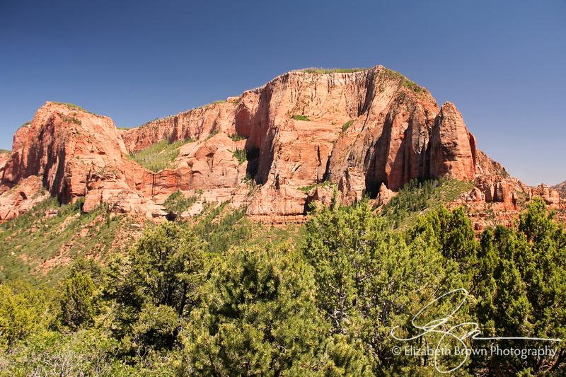 Kolob Canyon at Zion National Park, UT