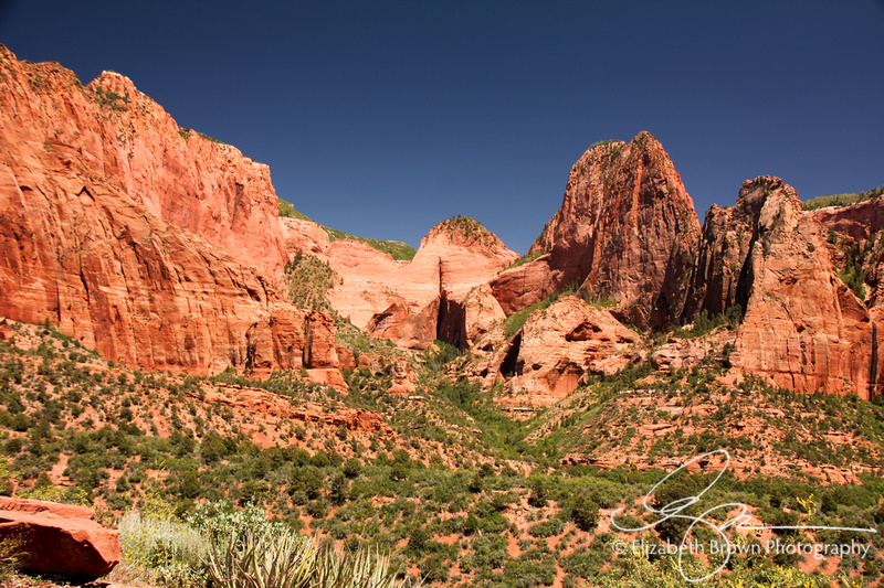 Kolob Canyon at Zion National Park, UT.