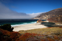 Marine Fog at the Big Sur Coastline
