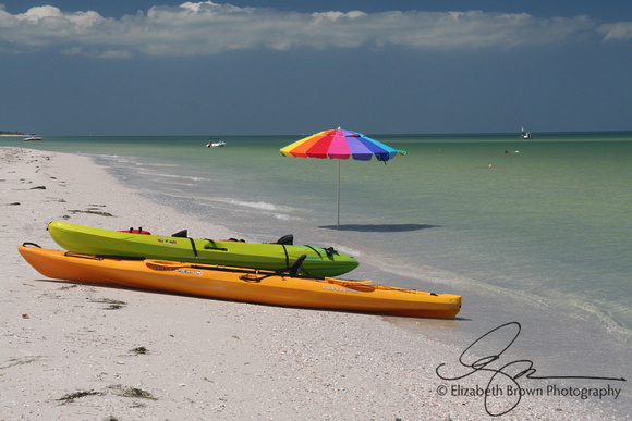 Sea Kayaks at Caladesi Island State Park